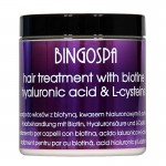 Hair Treatment with Biotine, Hyaluronic Acid and L-cysteine