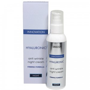 Hyaluronic anti wrinkle NIGHT cream with firming formula