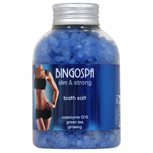 Bath Salt - Coenzyme Q10, Green Tea, Ginseng - slim & strong