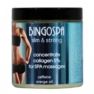 Concentrate collagen 5% for SPA massage