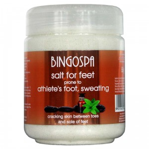 Salt For Feet Prone To Athlete's Foot, Sweating 2in1