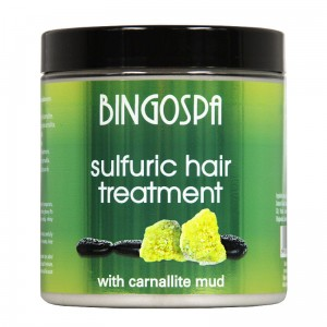 Hair Treatment With Carnalllite Mud -  antidandruff