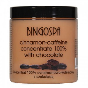 100% Cinnamon and Caffeine Concentrate with Chocolate