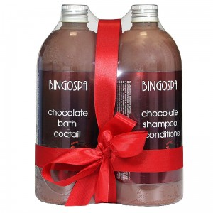 Set No. 9 - Chocolate Delights For Bath And Hair Care
