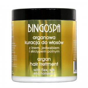 Argan Hair Treatment with Flax, Silk and Horsetail