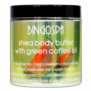 Shea Body Butter with Green Coffee Oil