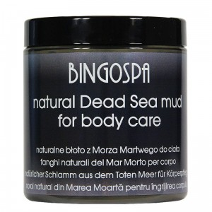 Natural Dead Sea Mud for body care