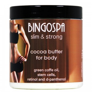 Cocoa Body Butter With Stem Cells, Retinol And D-panthenol