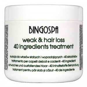 Hair Treatment with 40 active ingredients