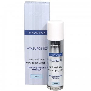Hyaluronic Anti Wrinkle EYE & LIP Cream With Deep Moisturising Formula